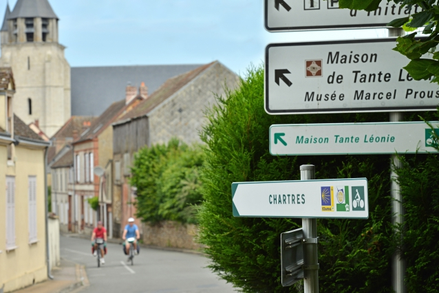 Veloroute Saint-Jacques Illiers-Combray