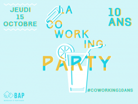 Coworking Party : 10 ans de coworking