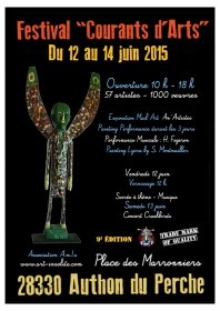 courants d'arts 2015